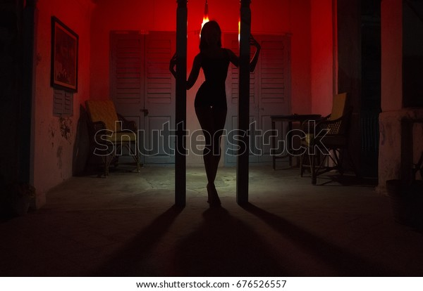 Pole sexy auf der girl stripperin