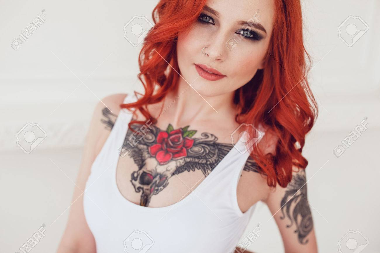 Tattoo girls out hot making