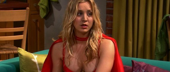 bang kaley cuoco theorie Big