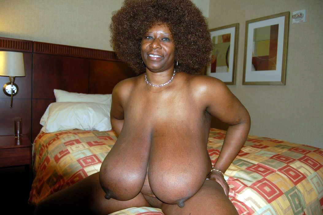 Black big mature tits women