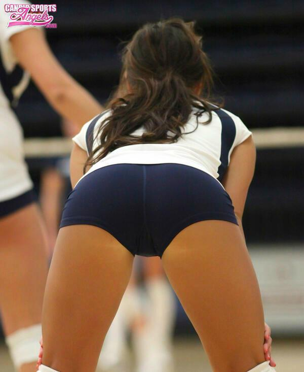 Shorts girls sex volleyball in