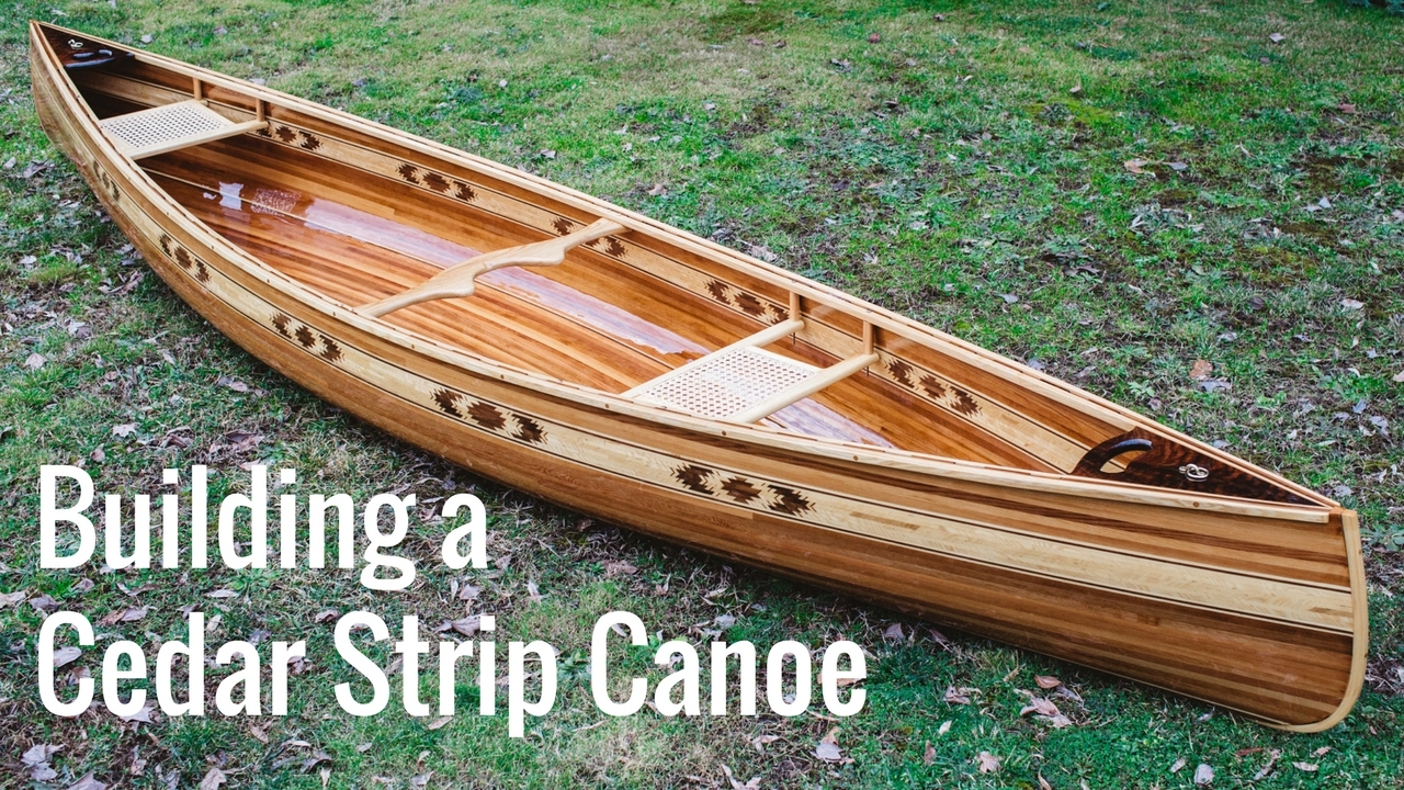 plan strip cedar canoe Free