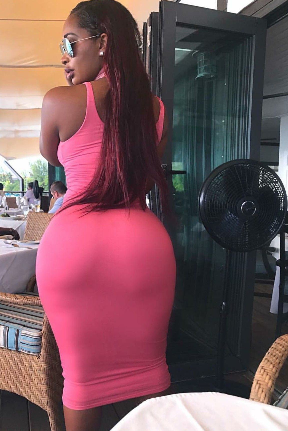 Black girls sexy kleid ass big girls