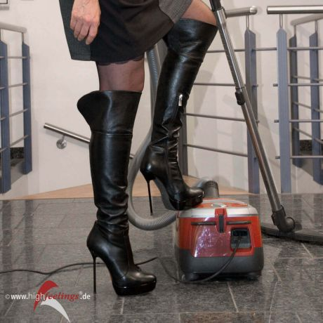 Strumpfe heels high in frauen altere