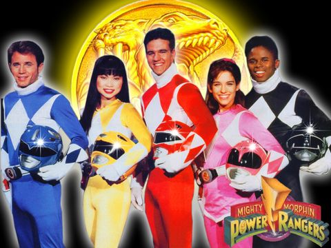 Power original mighty rangers morphin