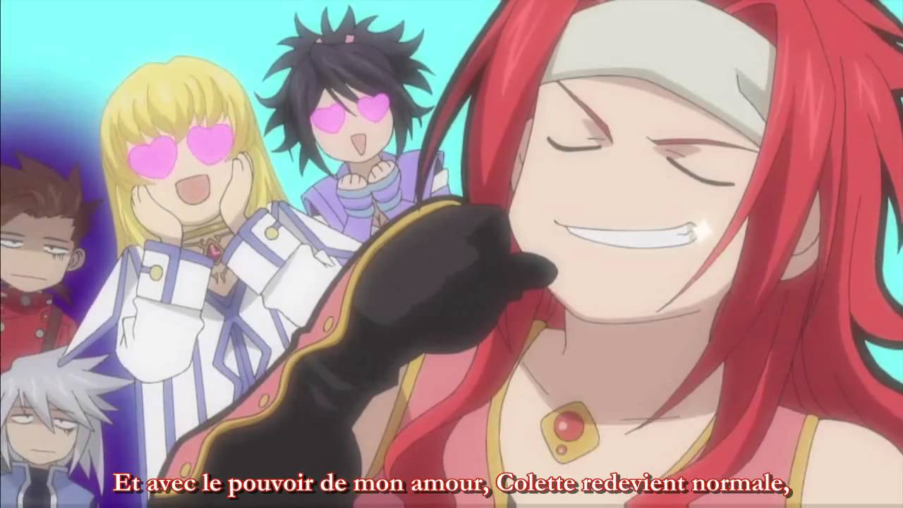 Of kratos tales yaoi symphonia