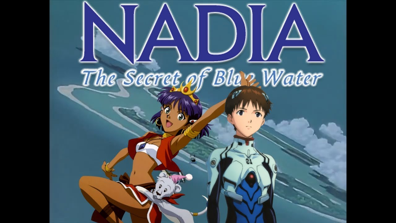Blue of water secret nadia