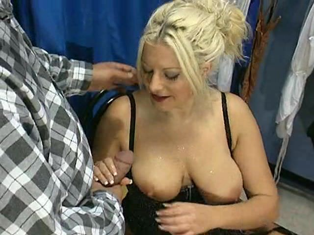 Big saggy frau mature tits