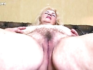 Pussy mom hairy anal granny