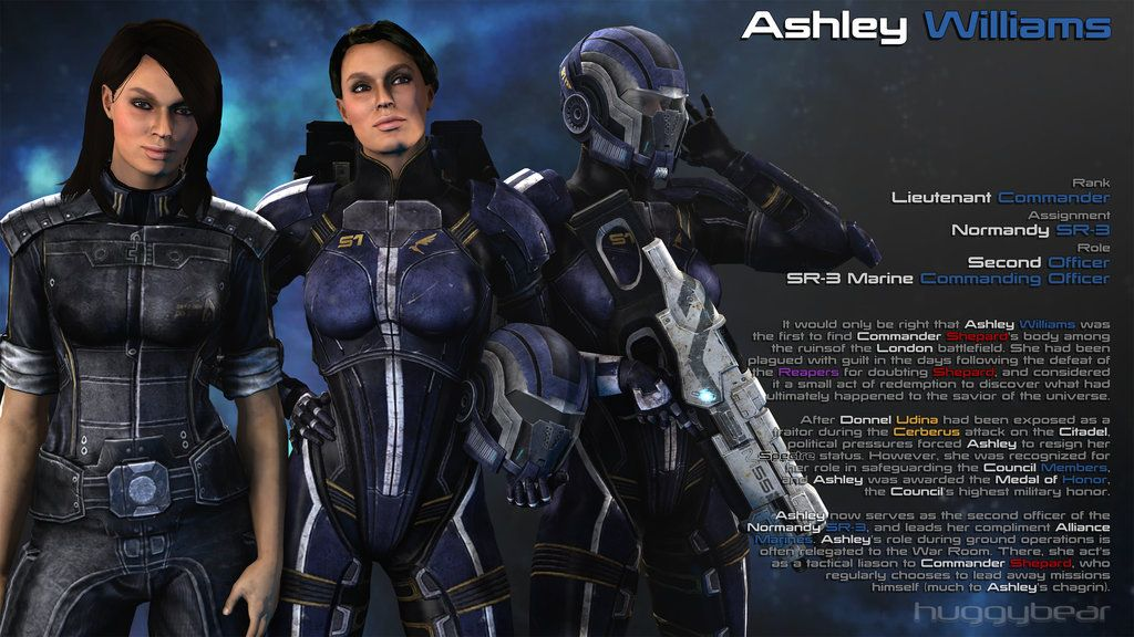 Miranda und ashley mass effect