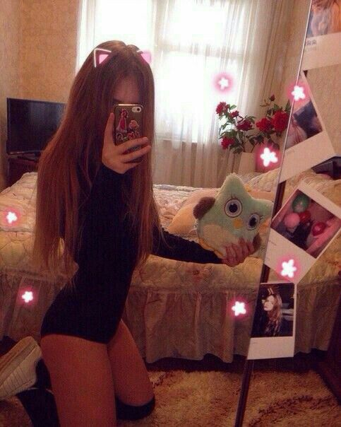 Madchen teen goth cute young